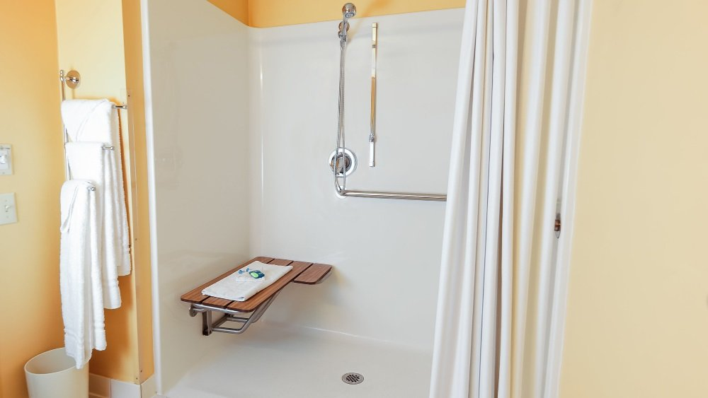 2 Full Accessible w/ Roll-in Shower