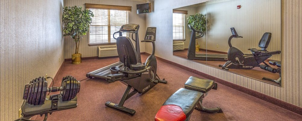 Well-equipped Fitness Center